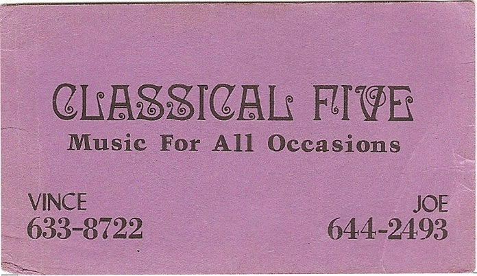 Classical Five Band Card